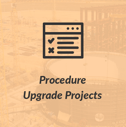 Procedure Upgrade Projects